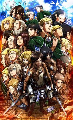 進撃の巨人 進擊的巨人 Attack on Titan Shingeki no Kyojin Mikasa, Armin, Film Anime, Manga Anime, Anime Art, Christa Renz, Wallpaper Free, Mobile Wallpaper, Tsubaki Chou Lonely Planet