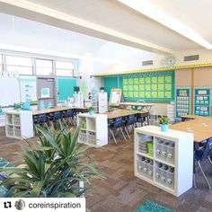 Third Grade Classroom Tour : Designed For Self-Directed Learning First Grade Classroom, Classroom Setup, School Classroom, Future Classroom, Classroom Walls, Kindergarten Classroom Layout, Classroom Decor Primary, Classroom Color Scheme, Mindful Classroom