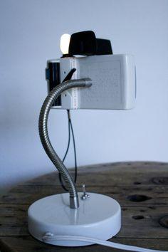 Camera Lamp Polaroid Swinger da ThePigAndWhistle su Etsy