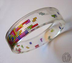 #Tetris bangles byKeri Newton