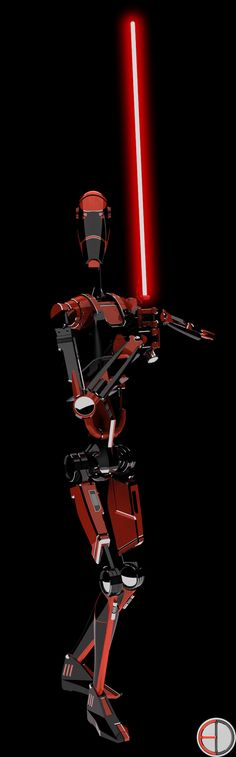 Dark Battle Droid - 5 by mech7 on DeviantArt