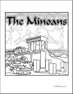knossos coloring - Google Search