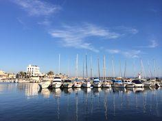 The Portixol harbour in Palma de Mallorca