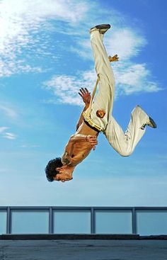 ♂ Brazilian Martial Art Capoeira by Ario Wibisono man upside down jump from http://500px.com/photo/4150060