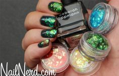 Deborah Lippmann Stormy Weather -- gorgeous!  via nailnerd.com