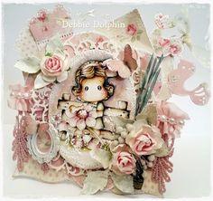 Magnolia cards by Debbie: He Love Me.... He Loves Me Not Tilda