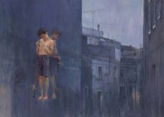 "Saatchi Art Artist Holger Theunert; Painting, ""MICKI"" #art"