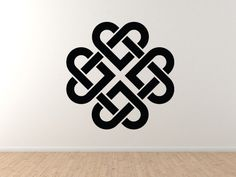 Celtic Pattern - Knot Medallion Circle Irish Heritage Wall Vinyl Decal Home Decor Celtic Fonts, Celtic Symbols, Celtic Art, Celtic Dragon, Irish Tattoos, Celtic Tattoos, Celtic Patterns, Ethnic Patterns, Geometric Shapes Art