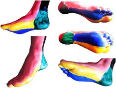 Angiosomes of the foot