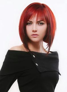 nice color and mid length cut