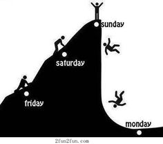 From Friday to Monday
