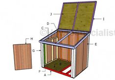 This step by step woodworking project is about generator shed roof plans. This is PART 2 of the project where I show you how to build the roof and the front double doors. Generator Shed, Portable Generator, Carport With Storage, Pool Storage, Storage Sheds, Garage Storage, Diy Storage, Lean To Shed, How To Build Steps