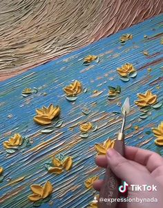 paintings on canvas flowers Painting Process Video, Palette Knife Painting, Acrylic Paint, Textured Nature Inspired Colorful Art Texture Painting On Canvas, Acrylic Painting Flowers, Acrylic Painting Techniques, Palette Knife Painting, Acrylic Painting Canvas, Diy Canvas Art, Painting Process, Flower Paintings On Canvas, Texture Painting Techniques