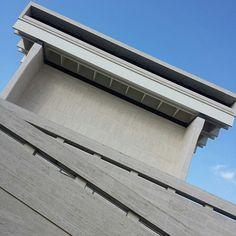 LBJ Presidential Library - Austin, TX. A splash of modernism on a Sunday morning, courtesy of architect Gordon Bunshaft. #savingplaces #austin #lbj #library #modernism #architecture #modernarchitecture