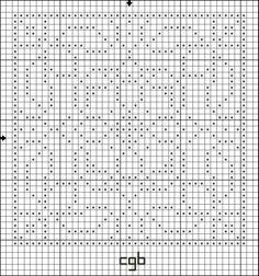 Free Bunnies Squared Cross Stitch Pattern - Free Printable Chart