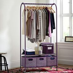 This is EXACTLY what I need. Put my favorite outfits out for display... or really so my best friend can find them easily to steal ;)