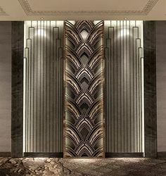 Working on a hotel lobby furniture interior design project? Find out the best fu. Lobby Interior, Luxury Interior, Interior Architecture, Interior Design, Art Deco Hotel, Art Deco Design, Wall Design, Lobby Furniture, Lobby Design