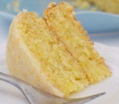 Delicioso bolo de laranja e coco