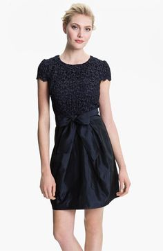 Suzi Chin for Maggy Boutique Lace & Taffeta Dress available at #Nordstrom