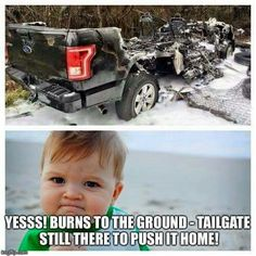 Funny Truck Quotes, Truck Memes, Funny Car Memes, Truck Humor, Chevy Jokes, Ford Jokes, Chevy Vs Ford, Lifted Chevy, Ford Humor