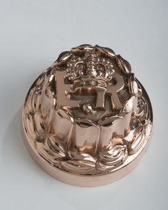 English, copper round mould ER Edward VII..1901-1910 son of Queen Victoria and Prince Albert Benham