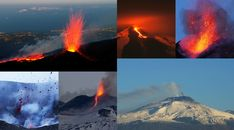 #MountEtna is the largest active volcano in #Europe and one of the world's most frequently erupting volcanoes. It is also the volcano with the longest record of continuous explosion.