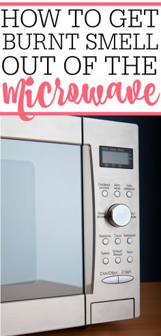 Burnt smell in the microwave? Try this simple tip on how to get burnt smell out of microwave. It will make your microwave smell disappear. Deep Cleaning Tips, House Cleaning Tips, Natural Cleaning Products, Cleaning Solutions, Spring Cleaning, Cleaning Hacks, Kitchen Cleaning, Kitchen Tips, Microwave Cleaning