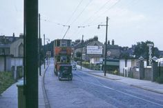 Plumstead High St, 1951 London History, Local History, Family History, London Bus, East London, London Transport, London England, Old Photos, 1950s