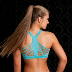 one of our fitness favorites! sports bras with a great back. look hot at the gym or use it in place of a bandeau- under a shirt. SYCHOFIT.com better than lululemon