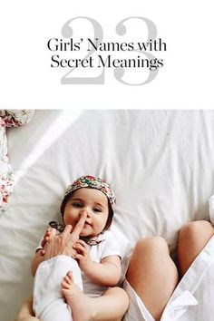 23 Classic Girl Names That Have Awesome Secret Meanings via @PureWow