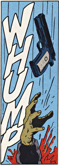 WHUMP! My favorite comic book word and ironically usually the state of my life