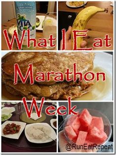 10 Things You Eat Before The Marathon