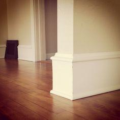 1926 home hardwood floor, trim/moulding