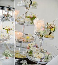 Altes Porzellan für Blumen bzw. als Blumenvasen und Blumengefäße nutzen