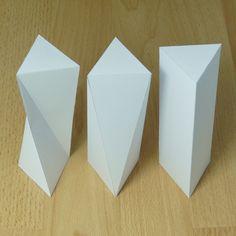 twisted triangular prisms