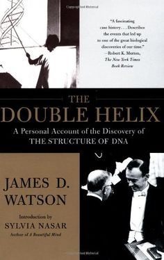 The Double Helix: A Personal Account of the Discovery of the Structure of DNA by James D. Watson Ph.D.,http://www.amazon.com/dp/074321630X/ref=cm_sw_r_pi_dp_yu9Wsb0JETXSF6AW