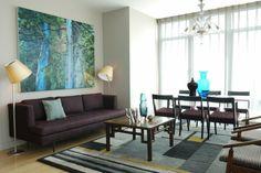 Farbkonzept wohnzimmer ~ Farbgestaltung wohnzimmer helle wände pflanzen vintage couchtisch