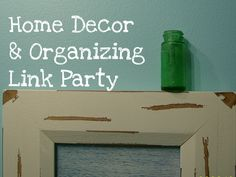 home decor and organizing link