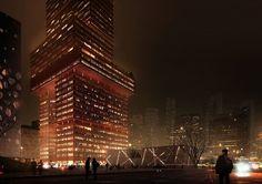 Mecanoo Liuxiandong Tower . Shenzhen