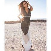 INC International Concepts Dress, Sleeveless Colorblock-Stripe Maxi