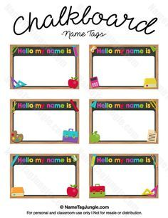 Free Printable Train Name Tags The Template Can Also Be Used For - Free name tag templates