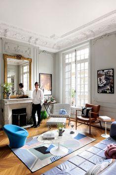 Историческая резиденция в Париже получила новое дыхание | Пуфик - блог о дизайне интерьера