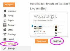 How to remove powered by blogger  wizardofdork Blog Tips, How To Remove, Posts, Templates, Messages, Stencils, Vorlage, Models