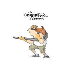 AI Heroes Backyard Boss #fathersday