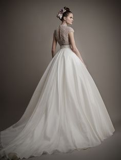 2015 BRIDAL GOWNS | Gowns in this bridal collection range in price from $7,000 to $12,000.
