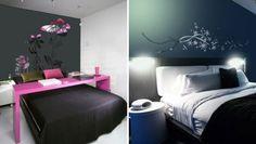 Cool bedrooms.