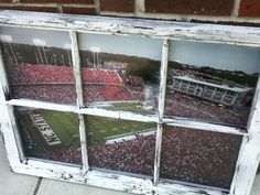 NC State Window by WindowsbyLauren on Etsy, $100.00....must have!!!!!!!