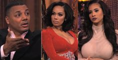 """""""Love & Hip Hop: NY"""" REUNION: Erica Mena, Cyn Santana & Rich Dollaz Collide During Reunion Taping [PREVIEW] 