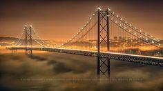 Ponte sobre o Tejo. Lisboa - Portugal