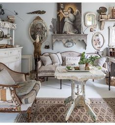 Decor, French Country Decorating, Country Decor, Shabby Chic Interiors, Victorian Interior, Country House Decor, Shabby Chic Furniture, Shabby Chic Room, Chic Home Decor